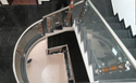 SS Staircase Glass Railings