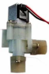 Plastic Medium Pressure Latching Solenoid Valve For Auto Taps, For Water