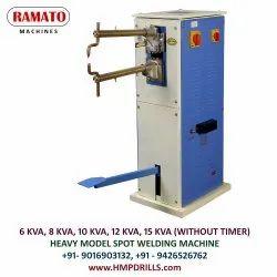 RAMATO Steel Almirah Welding Machine