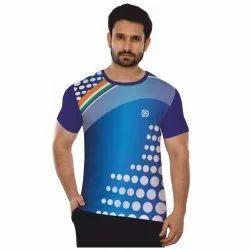 Mens Sublimation Print T Shirts, Size: S-XXL