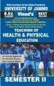 Jammu B.ed. 2nd Sem (e) Teaching Of Heath & Physical Education (e) Vinod Publications