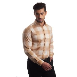 Finnoy Men Check Shirt