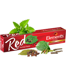 Mint Elements Red Herbal Toothpaste, Packaging Size: 150 G