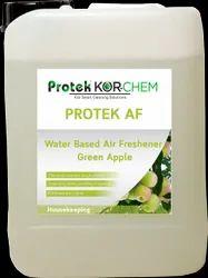 Protek AF Green Apple Water Based Air Freshner, Packaging Size: 5 L, Plastic Can