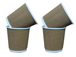 Brown Ripal Cup, Capacity: 150 ML