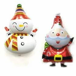 Santa Claus Foil Balloons For Christmas Party