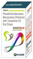 Paradichlorobenzene,Chlorbutol,Benzocaine And Turpentine Oil Ear Drops (Waxtane)