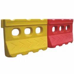 聚乙烯路安全塑料屏障
