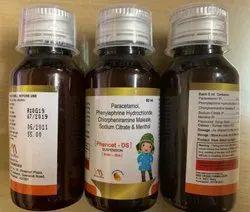 Phencet-DS Chlorpheniramine Syrup, Packaging Size: 60 Ml