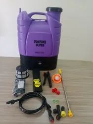 Huge Demand Attractive Purple Colour Battery Operated Agriculture Sprayer