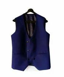 Plain Mens Cotton Waistcoat, Size: M-XXL
