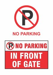 No Parking Sign Board Services