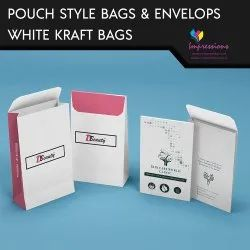 Pouch Style Paper Carry Bags
