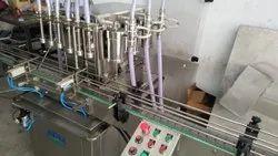 Floor Cleaner Liquid Filling Machine