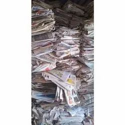 New Paper White Old Newspaper Waste