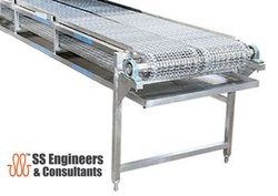 SS Wire Mesh Conveyors