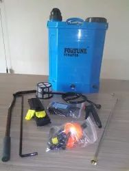 8ah Blue Fortune 2 In 1 Battery Operated Agriculture Battery Sprayer Pump