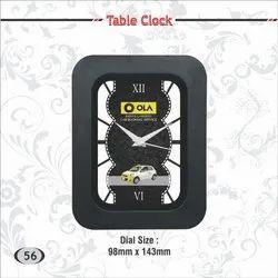 Table Clock ( Ola, Turkish Airlines, Bacardi)
