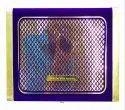 Knkup010 - Violet Velvet 2 Trumpets With 2 Glass Bowl Up Ultra Super Premium Wedding Cards