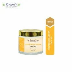 Rangrej''s Aromatherapy Soundarya Ubtan Face Gel For Skin Lighten/Brighten/Glowing/Moisturizing Skin