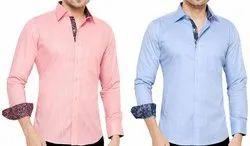 Zaro Plain Formal Wear Men Shirt, Handwash
