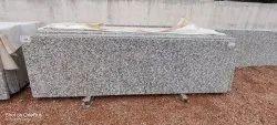 P White Granite, Thickness: 15-20 mm
