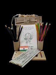vidigo Balck And Multi Pencil Sets, For Corporate And Office Uses, Model Name/Number: ECOKITVP01