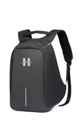 HIGHLANDS Black Anti Theft Backpack, Bag Capacity: 25 Litres