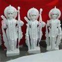 Lord Shri Ram Jodi White Marble Statue