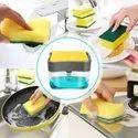 ABS 2 In 1 Plastic Liquid Soap Dispenser