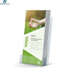 Paper Rack Cards Printing, Location: India, Size: 3.5 X 2 Inch