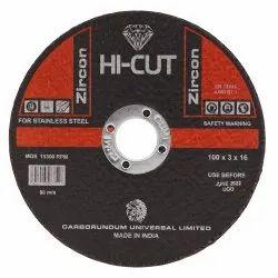 Hi Cut Zirconia 3 Mm Center Thinwheel