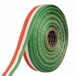 Gross Grain Medallion - Orange, White, Green Ribbons25mm/1''inch Gross Grain Ribbon 20mtr Length