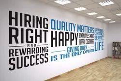 Wall Branding Vinyl Printing Service