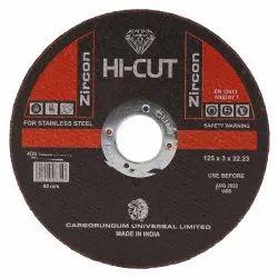 Hi Cut Zirconia 125 Mm Center Thinwheel