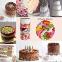 Cake Decorating Sprinkle Candy Moon