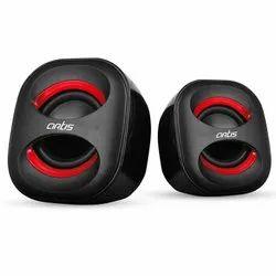 Red & Black Artis USB Sound Speaker, 4 Ohms