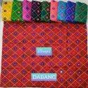 """44-45"""" Embroidered Gamthi Work Fabric"""