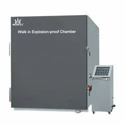 Walk In Explosion-Proof Chamber (Auxiliary Equipment)