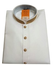 Casual Wear Mens White Designer Cotton Kuta Pajama, Dry clean