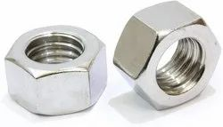 Hexagonal Stainless Steel Hex Nut, Size: M12