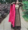 Unstitched Straight Party Wear Festival Kurti
