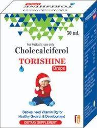 CHOLECALCIFEROL DROPS Pharmaceutical Third Party Manufacturing In Nanital