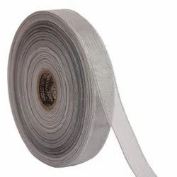 Lurex - Silver Stripes Ribbons 25mm/1'' Inch 20mtr Length
