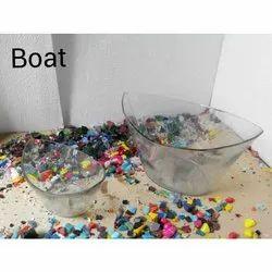 Boat Glass Vase