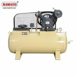 RMT-42A 5 HP 2 Piston Two Stage Air Compressor With 240 LTR Tank