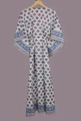 Ladies Printed Cotton Kaftan