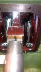 Crankshaft Repair And Metal Stitching Of Engine Block Of Man B&w 7l 16/24