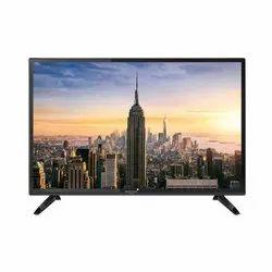 Reintech Black 24 Inch HD LED TV, Resolution: 1366 X 768 Pixels