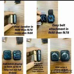 Black Digital FK 88 Smart Watch Update Version